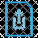 Upload File Upload Document Upload Database Icon