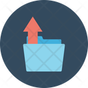 Folder File Upload File Icon