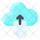 Upload File To Cloud Icon
