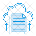 Cloud Document Files Icon