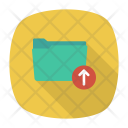 Uopload Folder Up Icon