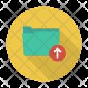 Upload Folder Up Icon