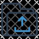 Upload Folder Data Icon