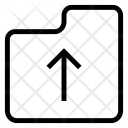 Upload Folder Archive Icon