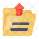 Upload Folder Folder Transfer Data Send Icon