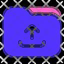 Upload Folder Directory Icon