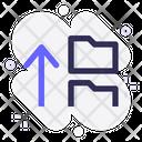 Upload Folder Upload Share Icon