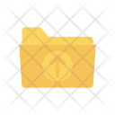 Folder Upload Files Icon