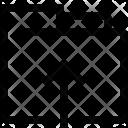 Arrow Up Folder Icon
