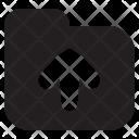Upload Folder Collection Icon