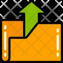Upload Folder Data Link Icon