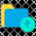 Folder Upload Upload Folder Icon