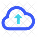 Upload From Cloud Icon