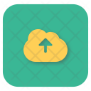Upload Cloud Interface Icon