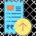 Upload Invoice Icon