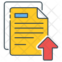 Upload literature Icon