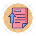 Upload Literature Upload File Document Icon