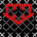 Mail Upload Arrow Icon