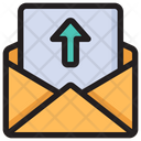 Upload Mail Outgoing Message Send Mail Icon