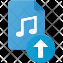 Upload music file Icon
