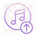 Upload Musicc Icon