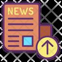 Upload News Icon