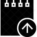 Paper Piece Upload Icon