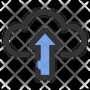 Upload on cloud Icon