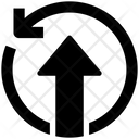 Seo Sync Upload Icon