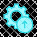 Upload Setting Icon