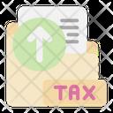 Upload Tax Folder Icon