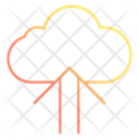 Upload Cloud Computing Icon