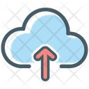 Upload Arrow Cloud Icon