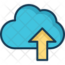 Cloud Store Up Icon