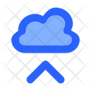 Upload Cloud Internet Icon