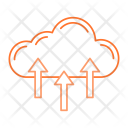 Cloud Upload Server Icon