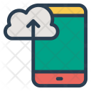 Upload Cloud Mobile Icon