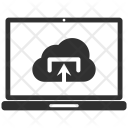 Computer Laptop Upload Icon