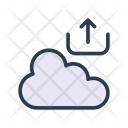 Cloud Server Upload Icon