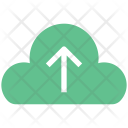 Cloud Uploading Arrow Icon