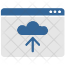 Upload Cloud Data Icon