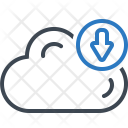 Cloud Upload Computing Icon