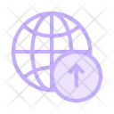 Upload To Network Icon