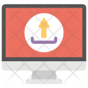 Website Upload Launch Icon