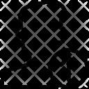 Up Arrow User Icon