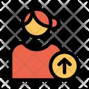 Upload User Upload Profile Female Profile Icon