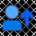 Upload User Arrow Upload Icon