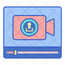 Upload Video Uploading Video Upload Icon