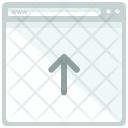 Upload webpage Icon