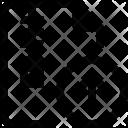 Upload Zip Arrow Icon